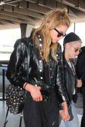 Kristen Stewart and Stella Maxwell - Charles de Gaulle Airport in Paris 06/13/2017
