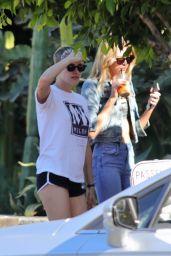 Kristen Stewart and Stella Maxwell - Los Angeles 06/26/2017