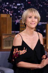 Kristen Wiig Appeared on Tonight Show Starring Jimmy Fallon in New York - 28 June 2017 x5