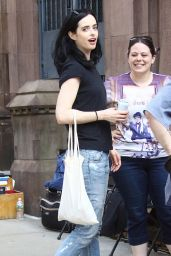 "Krysten Ritter - ""Jessica Jones"" Season 2 Set in New York 06/14/2017"
