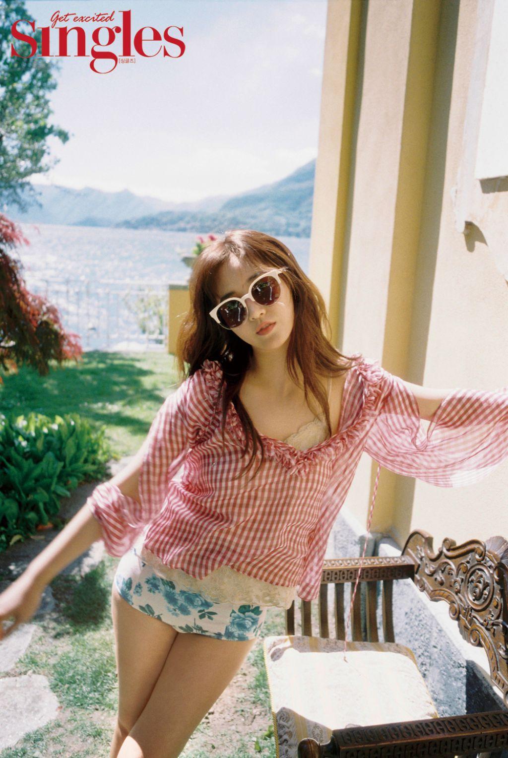Kwon Yuri - Singles Magazine June 2017