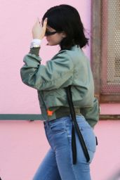 Kylie Jenner at the Ice Cream Museum in Downtown Los Angeles 06/11/2017