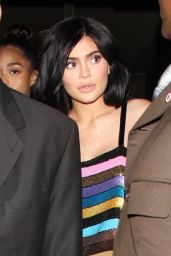 Kylie Jenner Night Out Fashion - Leaving Craig
