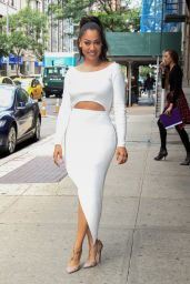 La La Anthony  at The Wendy Williams Show in NYC 06/27/2017