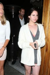 Lana Del Rey - Leaving the Nice Guy Restaurant in West Hollywood 06/18/2017