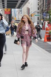 Larsen Thompson Casual Style - Out in New York City 05/30/2017