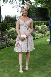 Laura Whitmore at Royal Ascot in London 06/23/2017