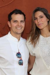 Laury Thilleman - French Open Mens Final At Roland Garros in Paris 06/11/2017