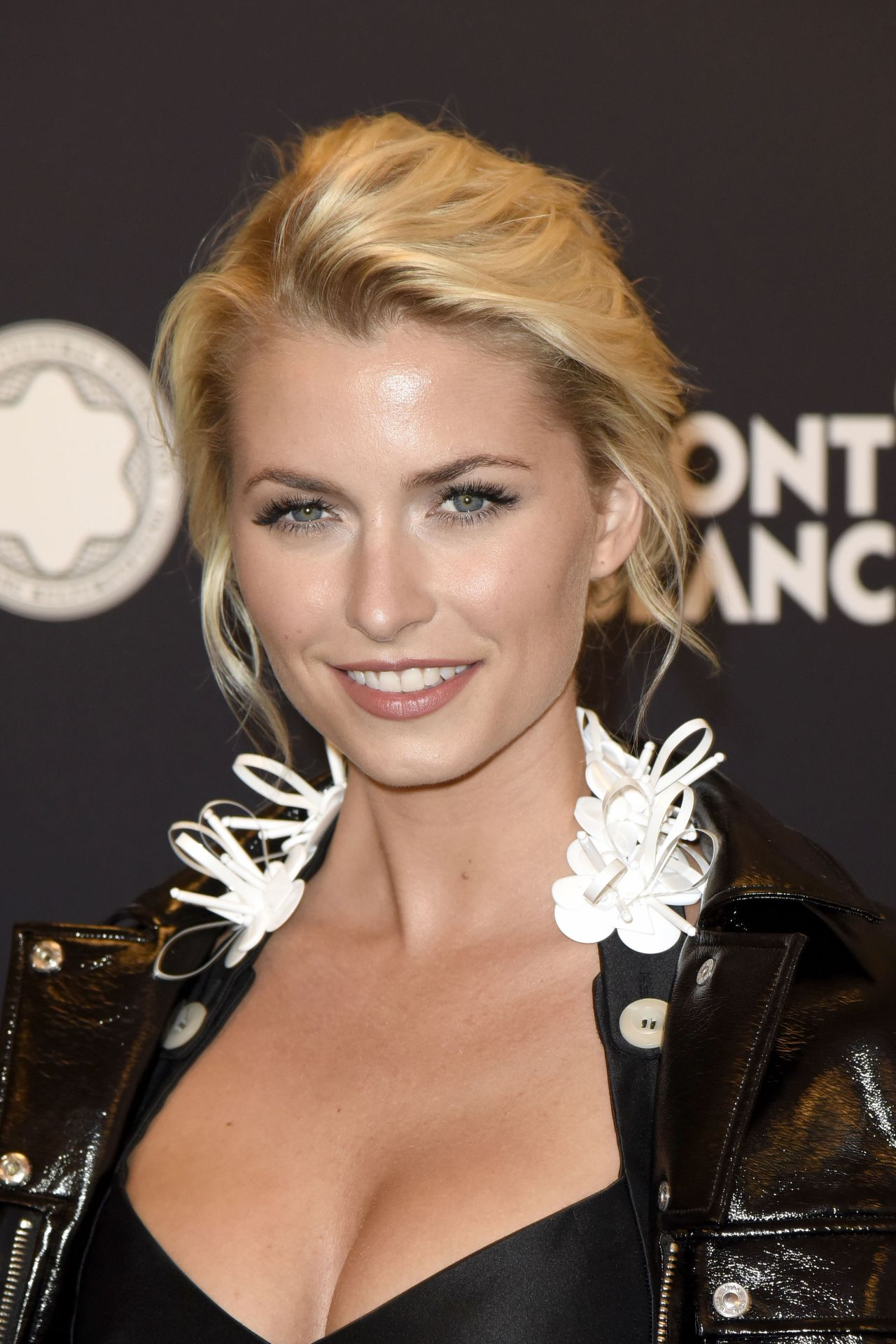 Lena Gercke Montblanc De La Culture Arts Patronage Award