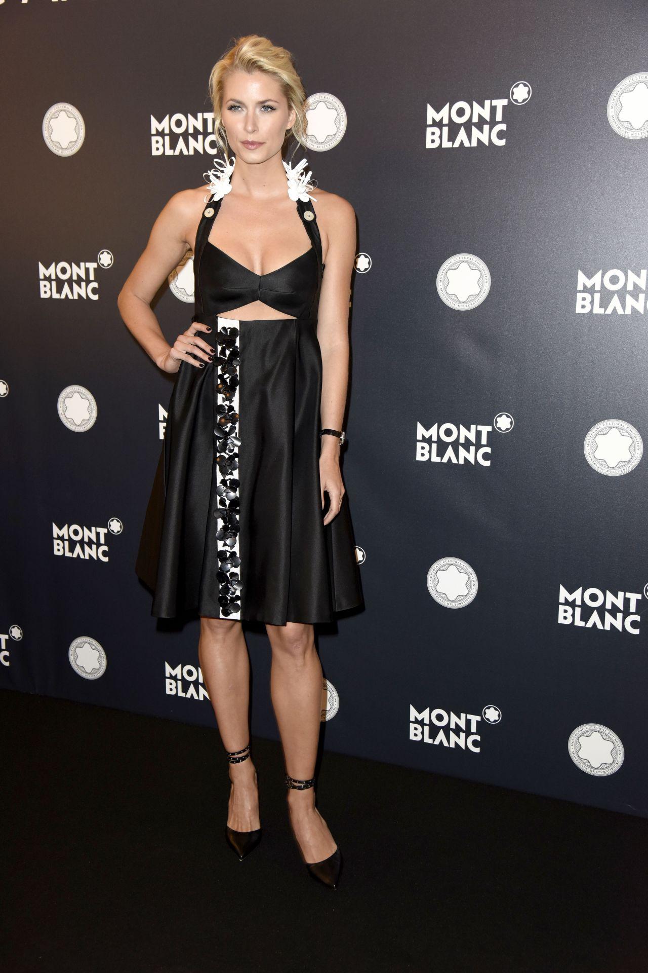 Lena Gercke Montblanc De La Culture Arts Patronage Award