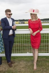 Lena Linzing at Royal Ascot in London 06/22/2017