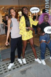 Leomie Anderson - Celebrates Her Campaign Launch With Nike in London, UK 06/13/2017