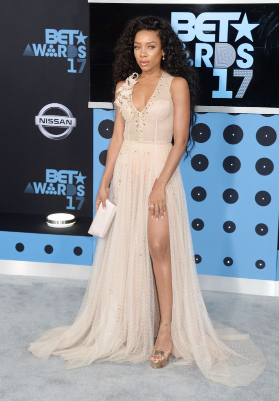 Lil Mama - BET Awards in Los Angeles 06/25/2017