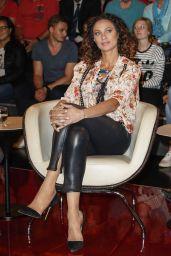 Lilly Becker at German TV Show Markus Lanz in Hamburg 06/14/2017