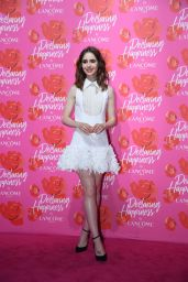 "Lily Collins - Lancome ""Declaring Happiness"" Opening Ceremony Exhibition in Shanghai 06/21/2017"