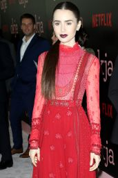 """Lily Collins - """"Okja""""Movie Premiere in NYC 06/08/2017"""