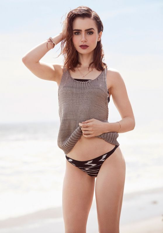 Lily Collins - Shape Magazine July/August 2017 Issue