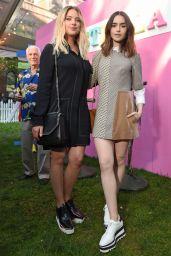 Lily Collins - Stella McCartney Resort 2018 Presentation in NYC 06/07/2017