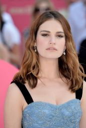 "Lily James - ""Baby Driver"" European Premiere in London, UK 06/21/2017"
