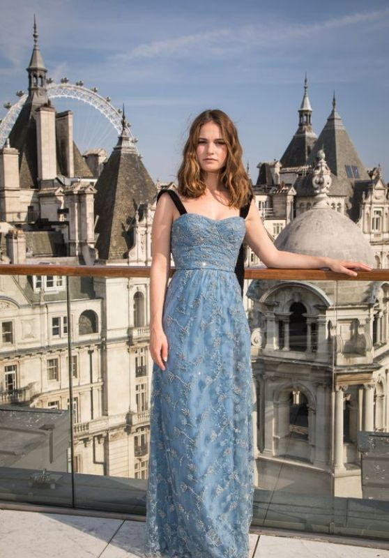"Lily James - ""Baby Driver"" Portrait Session at the Corinthia Hotel in London, UK 06/21/2017"