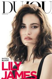 Lily James - Photoshoot for DuJour - Summer 2017