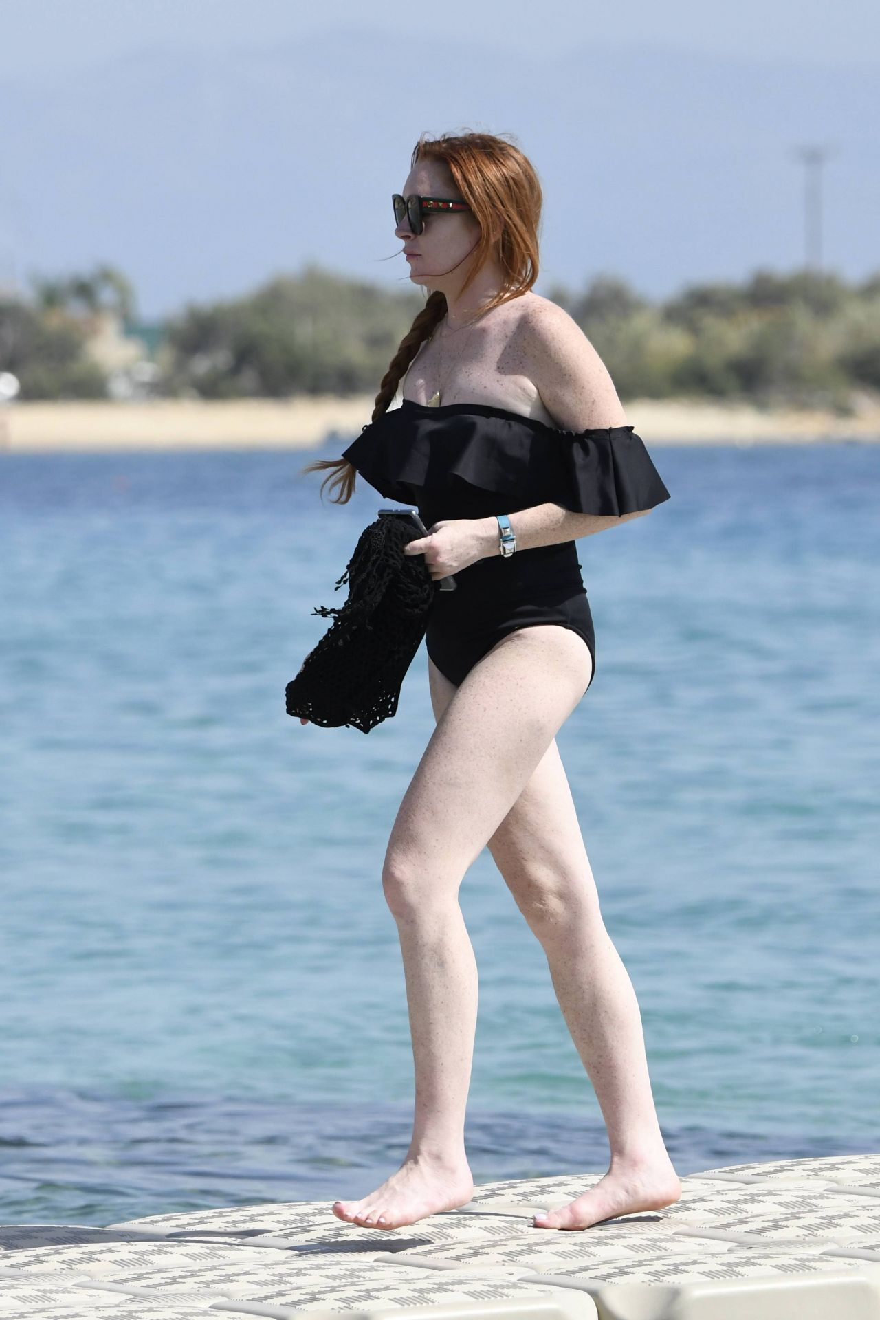Lindsay Lohan - Beach in Mykonos, Greece 06/29/2017 Lindsay Lohan 2017