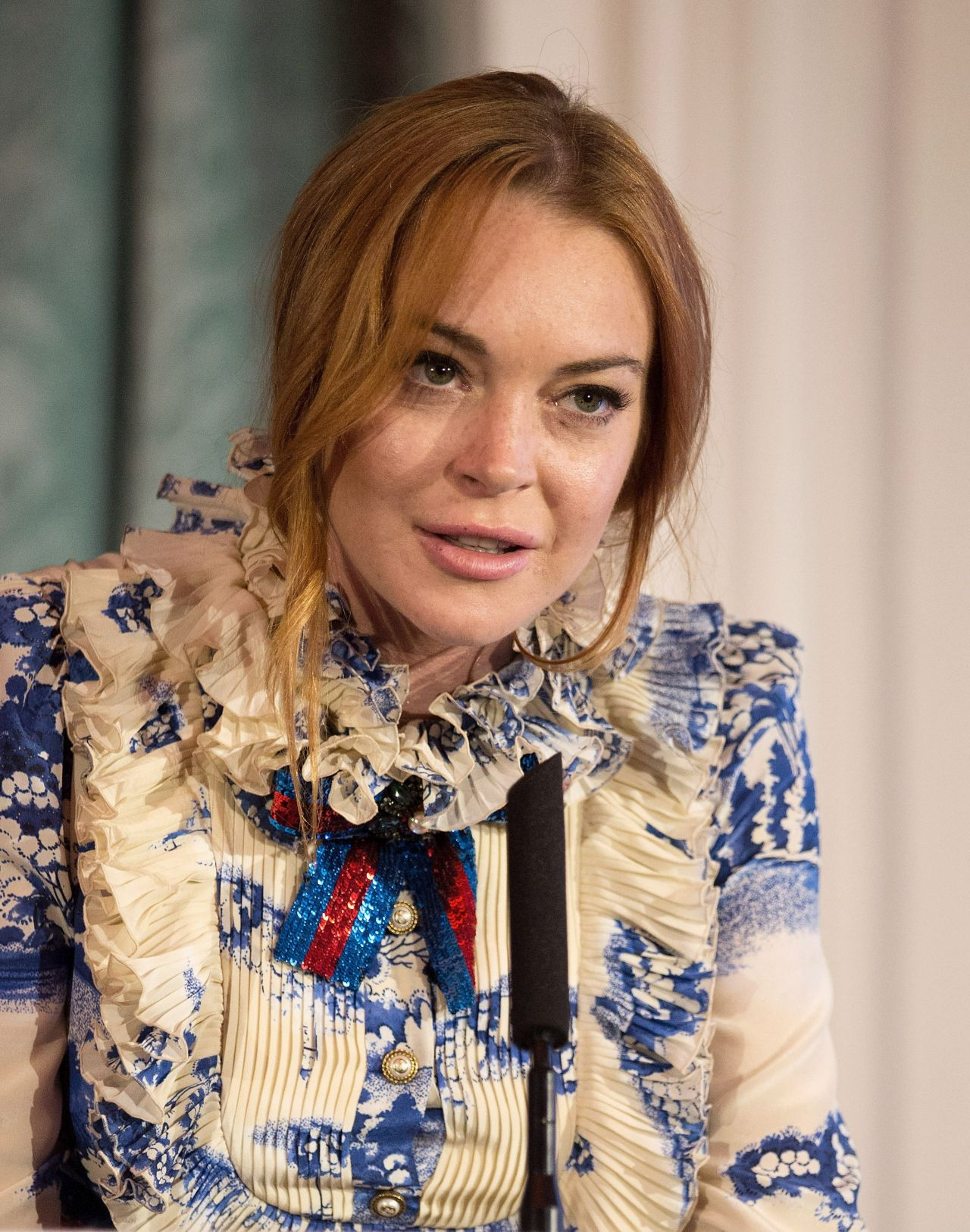 Lindsay Lohan - Iftar Hosted by One Family in London, UK ... Lindsay Lohan 2017