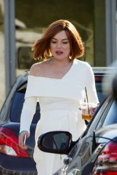 "Lindsay Lohan - TV show ""Sick Note"" Set in London 06/14/2017"