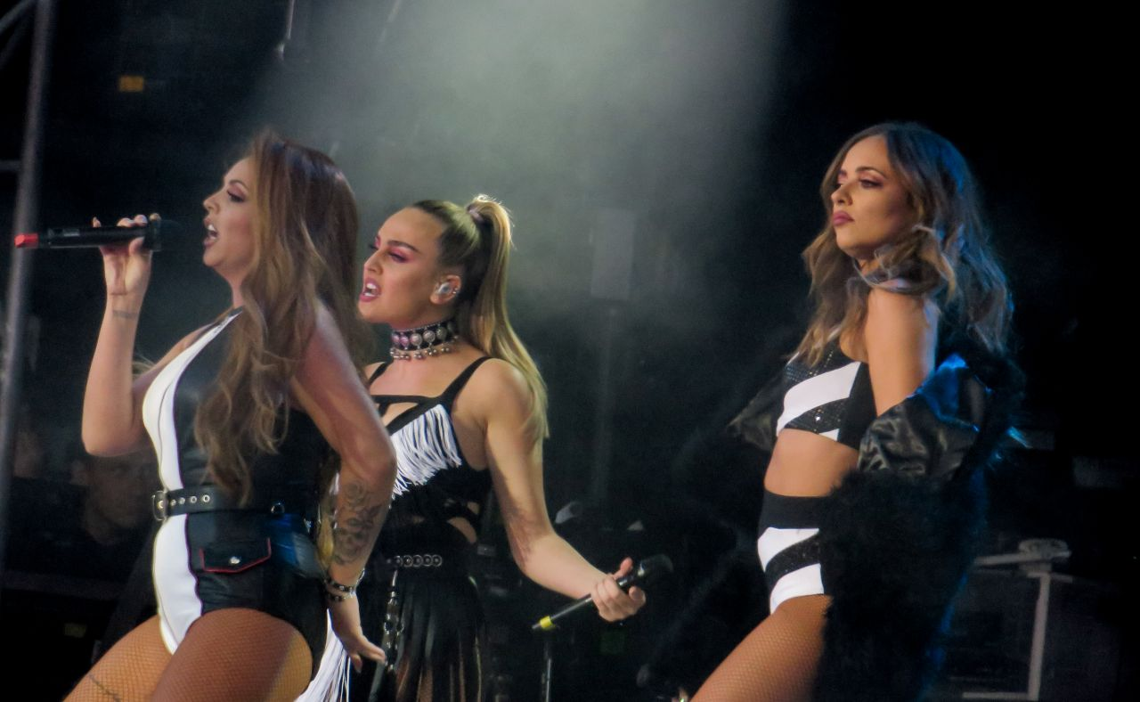 Little Mix One Love Manchester Benefit Concert At Old