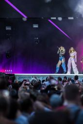 Little Mix Performing at the Capital's Summertime Ball at the Wembley Stadium in London 06/10/2017