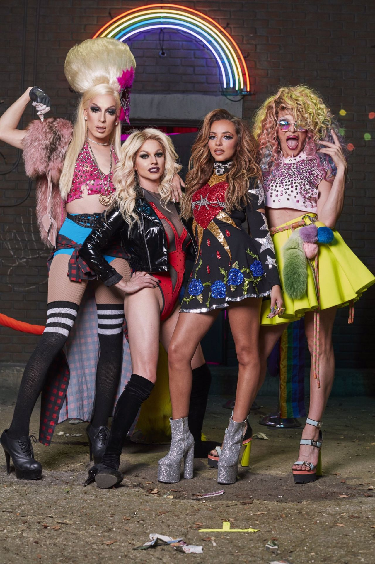 Little Mix are a British girl group formed in 2011 during the eighth series of the UK version of The X Factor They were the first group to win the competition and