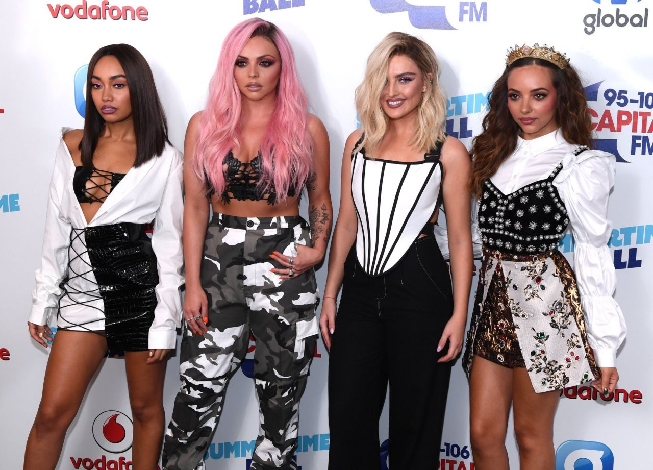 Little Mix The Capital S Summertime Ball Held In London