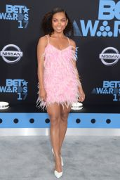 Logan Browning – BET Awards in Los Angeles 06/25/2017