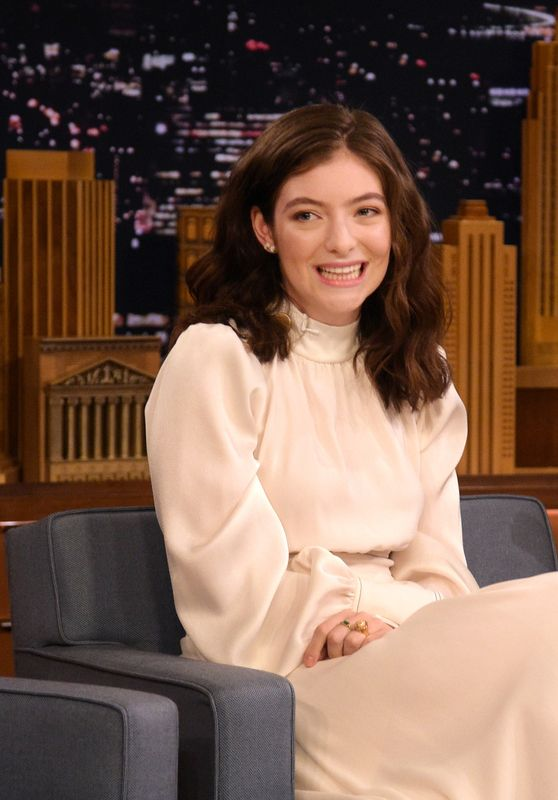 "Lorde - Visits ""The Tonight Show Starring Jimmy Fallon""  in NYC 06/15/2017"