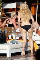 Lottie Moss in Bikini on Holiday in Spain 06/08/2017