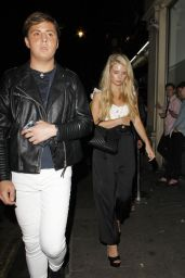 Lottie Moss Night Out Style - New York 06/24/2017