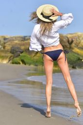 Louisa Warwick in Bikini - Photoshoot at the Beach in Montauk, NY 06/28/2017