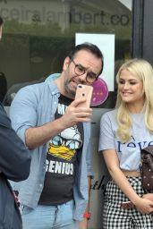 Lucy Fallon Cute Style - at Ceira Lamberts Hair Salon in Shankill Village, Dublin 06/17/2017