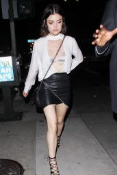 "Lucy Hale - Celebrates Her 28th Birthday at ""Viva Hollywood"" Restaurant in LA 06/17/2017"
