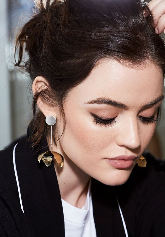 Lucy Hale -  Photoshoot 2017 for Byrdie