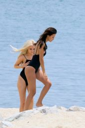 Lucy Watson,Tiffany Watson, Nicola Hughes in Bikini