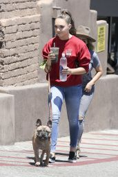 Maddie Ziegler - Leaves a Restaurant in Los Angeles 06/19/2017