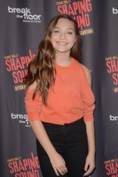 """Maddie Ziegler - """"Shaping Sound: After the Curtain"""" Opening Night at UCLA in Westwood 06/27/2017"""