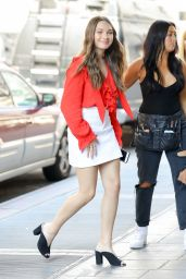 """Maddie Ziegler Style - Leaving """"Today"""" Show in NYC 06/12/2017"""