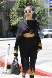 Madison Beer in Urban Outfit at Urth Caffe in West Hollywood 06/12/2017