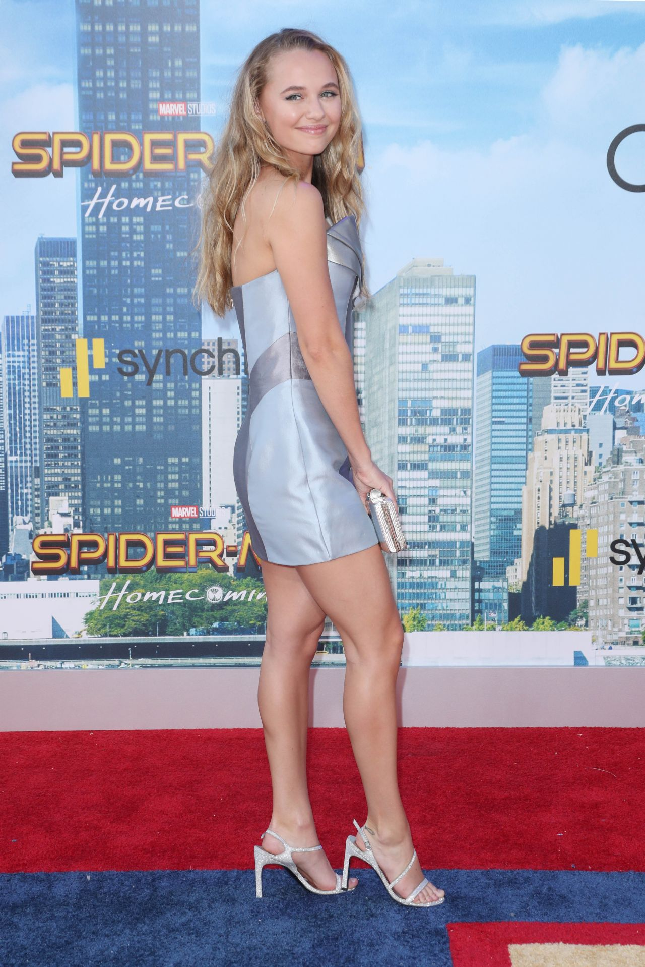 Madison Iseman Spider Man Homecoming Premiere In