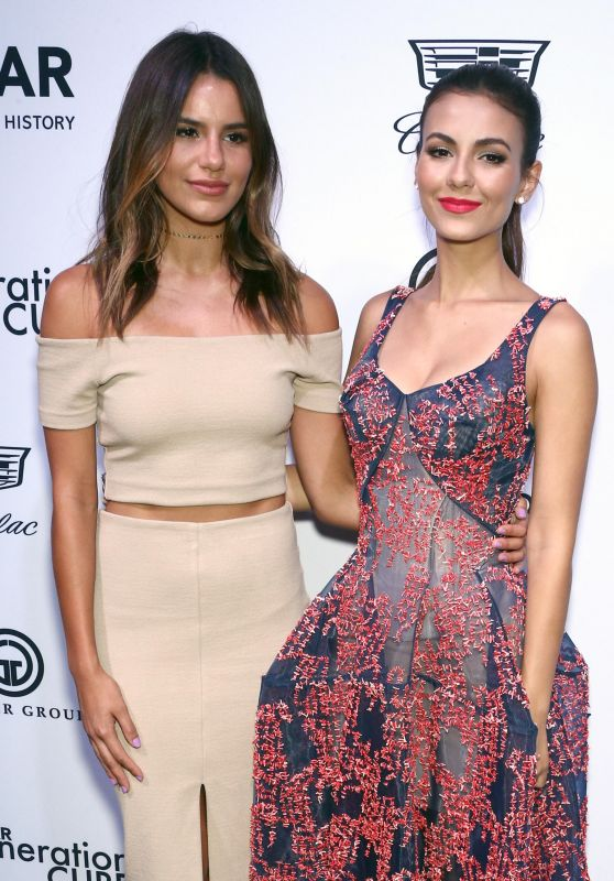 Madison Reed and Victoria Justice – amfAR GenerationCURE Solstice in NYC 06/20/2017