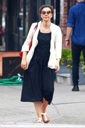 Maggie Gyllenhaal - Out in Soho, NYC 06/13/2017