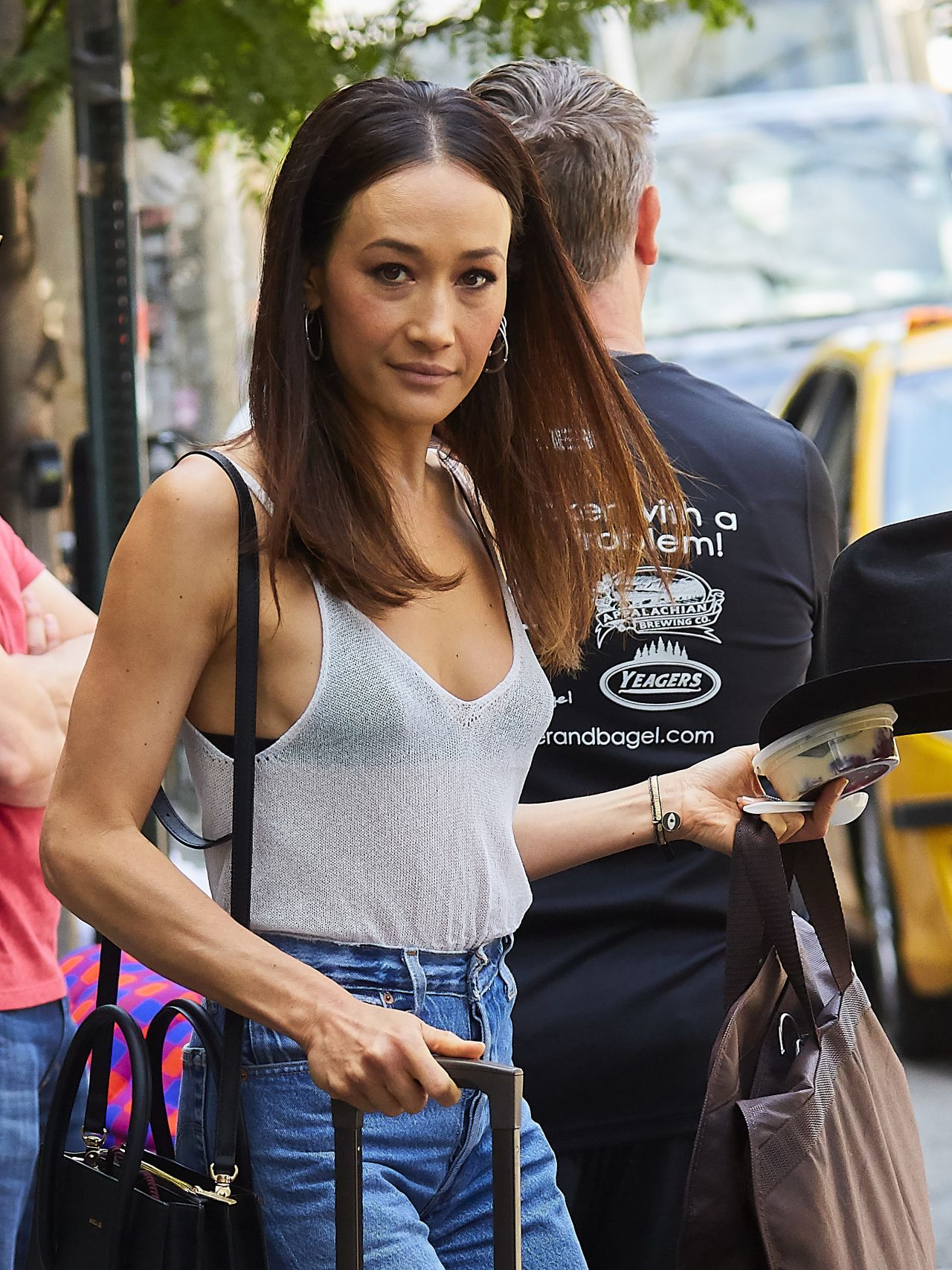 Maggie Q - Leaving Her Hotel in New York 06/09/2017