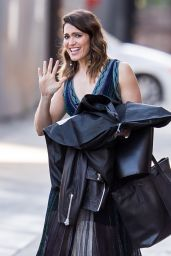 Mandy Moore Arrive to Appear on Jimmy Kimmel Live in Hollywood 06/09/2017